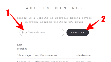 Who Is Mining