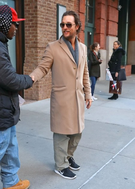Matthew Mcconaughey Camel Coat Fall Winter 2016 Trend 3