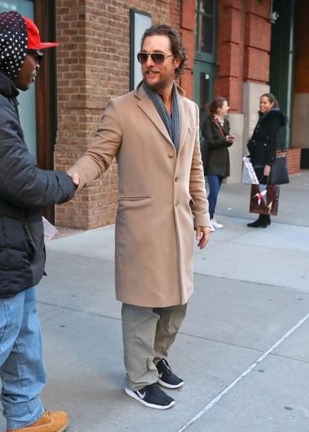 Matthew Mcconaughey Camel Coat Fall Winter 2016 Trend 3