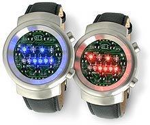 Descifrando el tiempo, un reloj con la hora en binario