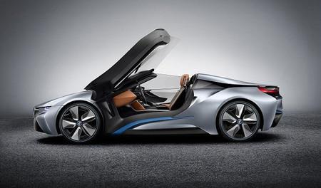 BMW i8 Roadster puertas