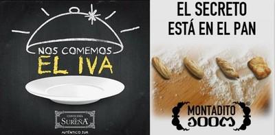 Ni Los 100 Montaditos ni La Sureña subirán sus precios con el incremento del IVA