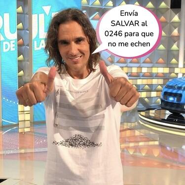Piden firmas para despedir a Joaquín Padilla, el cantante de 'La Ruleta de la Suerte' que suena como un gato atropellado