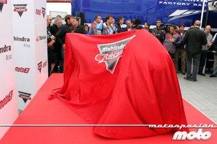 MotoGP Valencia 2011: presentación de la nueva Mahindra Moto3