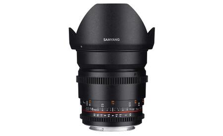 Samyang 16mm T2 2 Vdslr Ed As Umc Cs Ii