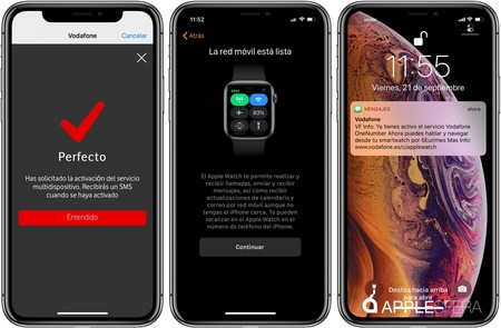 Configuracion Apple Watch Celular Espana