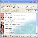 Envía emociones sonoras en tu messenger con vEmotion