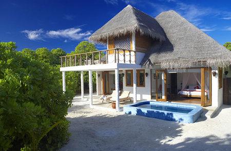 Dhonakulhi Residence, una sencilla cabaña en Hideaway Island, Maldivas