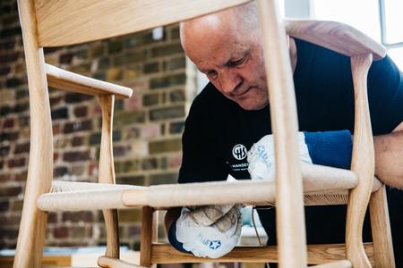 Carl Hansen S N Benny Weaving 06