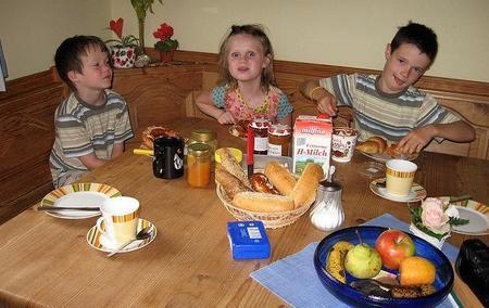 Más de la mitad de los niños no hace un buen desayuno