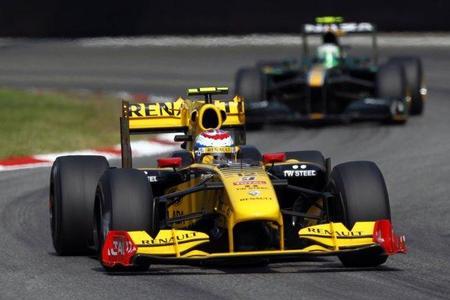 Renault con un nuevo patrocinador. Vitaly Petrov va ganando la carrera por el segundo asiento