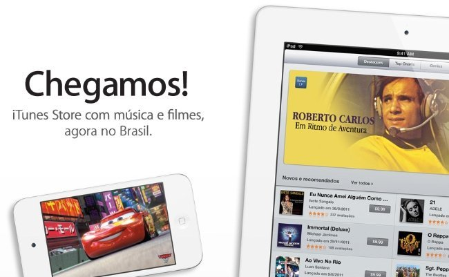 itunes store apple brasil