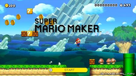 ¡Ya tienes Super Mario Maker! Que te parece un video con cinco secretos del juego