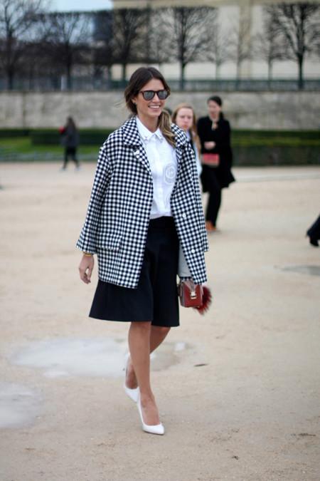 Street style Semana de la Moda de Paris Marzo 2014 Helena Bordon
