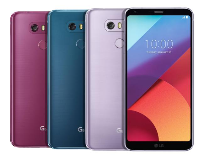 LG G6 recientes colores