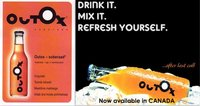 Outox, una bebida para no dar positivo en un control de alcoholemia
