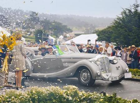 Un Voll & Ruhrbeck Cabriolet ganó el Pebble Beach Concours d'Elegance 2009