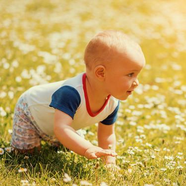 El desplazamiento del bebé: cómo empieza a conquistar su autonomía