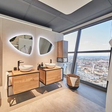 Strohm Teka estrena showroom en las alturas. Y tiene las mejores vistas de Madrid