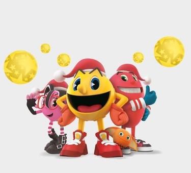 Del 21 de noviembre al 6 de enero Pac-Man nos espera en La Vaguada para celebrar la Navidad