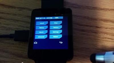 TWRP ya disponible para el LG G Watch y Samsung Gear Live