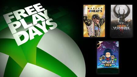Warhammer Vermintide II y Nascar Heat 5 entre los juegos para jugar gratis este fin de semana con Xbox Live Gold