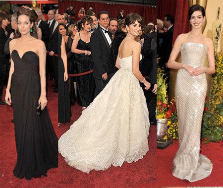 Las invitadas a los Oscar's 2009 (I)