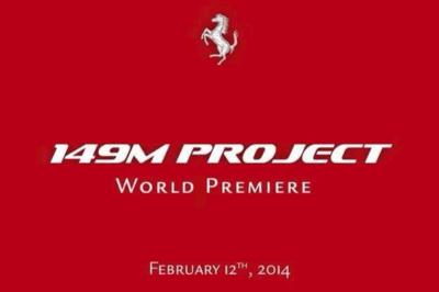 Ferrari presentará el nuevo California el 12 de febrero