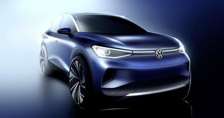 El Volkswagen ID.4 sale a estirar las piernas en carretera y es captado en video