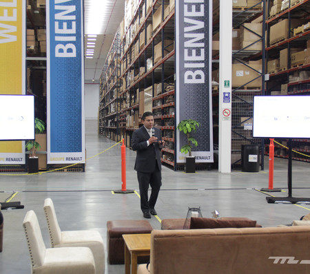 Renault inaugura su centro de distribución y almacenamiento de autopartes, reducirá el tiempo de reparaciones y eliminará quejas