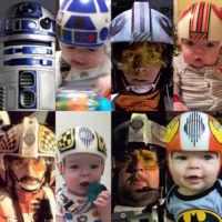 Estos cascos de Star Wars son la mejor manera de tratar la craneosinostosis en un niño