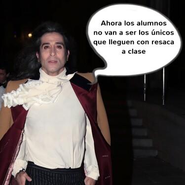 Profesor de historia: el nuevo trabajo de Mario Vaquerizo