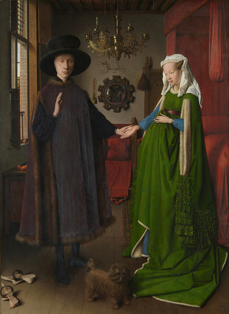 Matrimonio Arnolfini Van Eyck