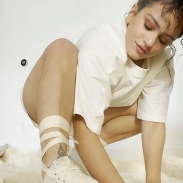 Rosalía se inspira en las esparteñas de su abuelo para su nueva colaboración con Nike: las zapatillas AF1 Espardille