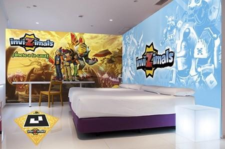 Los Invizimals tendrán su propia habitación en el Hotel del Juguete de Ibi (Alicante)