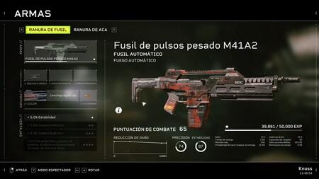 Fusil M41A2 Fireteam