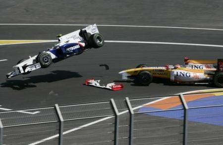 Nick Heidfeld crítico con Fernando Alonso tras el incidente