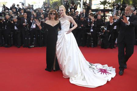 Así ha sido la primera alfombra roja inaugural del Festival de Cannes 2017