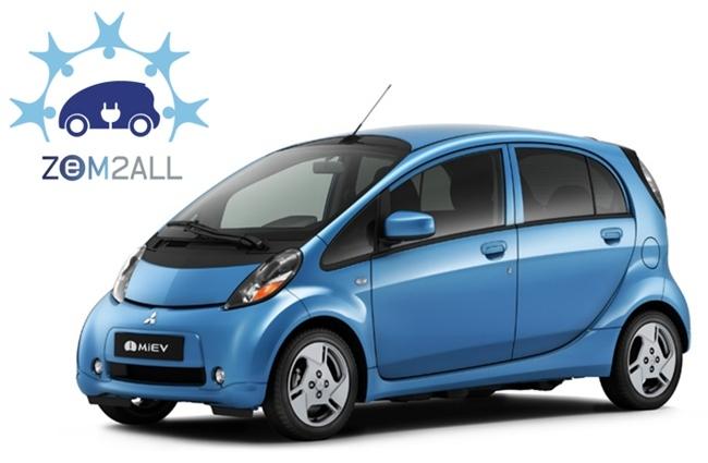 Mitsubishi i-MiEV ZEM2All Málaga smartcity