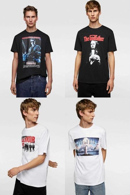 El Cine De Los Noventa Llega A Tu Armario Con Una Linea De Camisetas De Zara