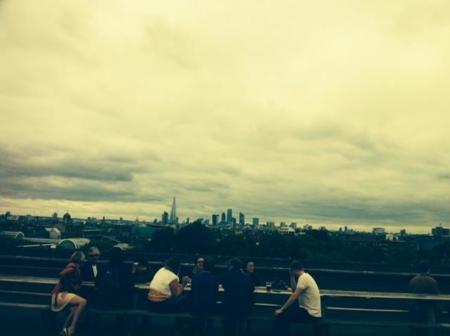 Frank's Café: ¡hola verano, gracias por pasarte por Londres!