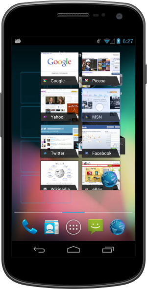 Jelly Bean Widgets