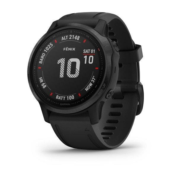 "Garmin Fénix 6S Pro - 1.2"", Sensores ABC, Frec. Cardiaca, Mapas, PacePro, GPS, ClimbPro, BT+WiFi"
