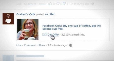 Facebook Offers ya está disponible en todo el mundo pero pasa a ser de pago