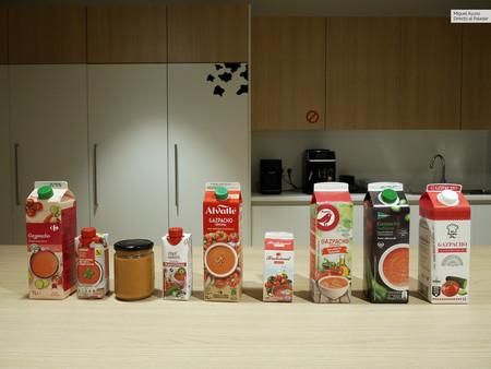 Probamos los gazpachos que se venden en los principales supermercados de España: estos son los mejores (y los peores)