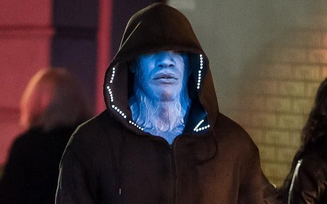 Imagen de Jamie Foxx como Electro en 'The Amazing Spider-Man 2'