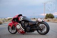 Roland Sands Mission 200, velocidad y custom conceptos que se reunen en una sola moto