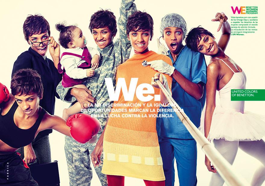 Foto de United Color of Benetton contra la violencia de género (2/4)