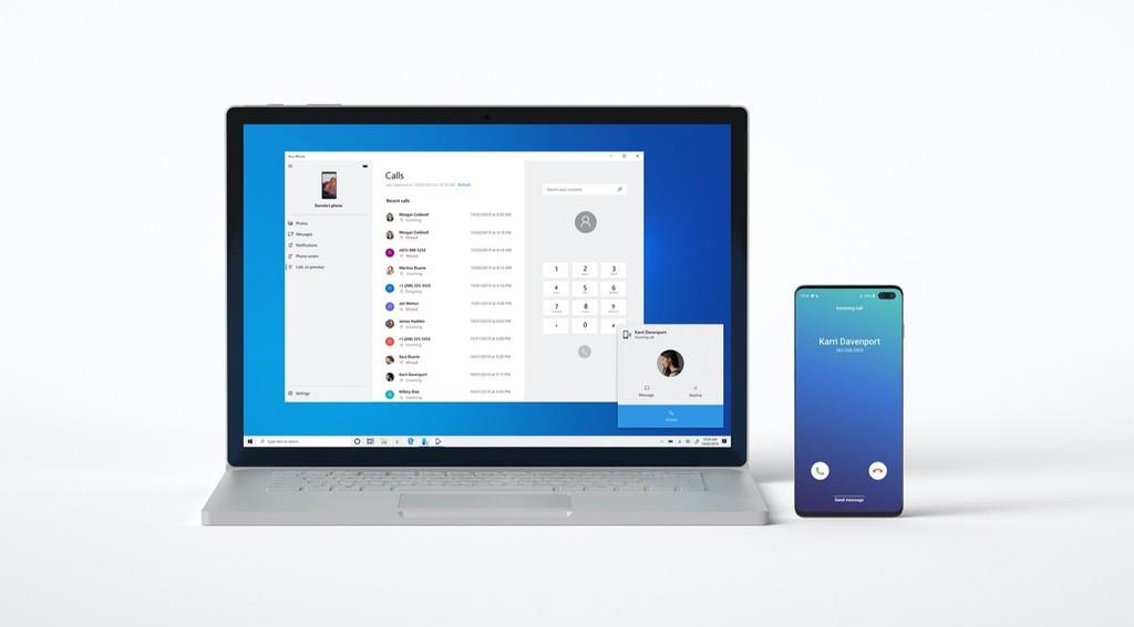 Windows 10 ya permite que los usuarios Insider hagan llamadas y las reciban desde Android con la aplicación 'Tu Teléfono'