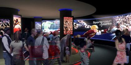 Inauguración del Museo Nacional de los Deportes en Nueva York